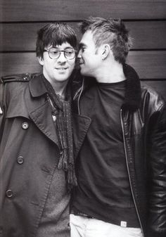 """""""We've been married for 22 years…"""" Graham Coxon on Damon Albarn just now on BBC 4.   I wish I have a long and intense friendship like these two."""