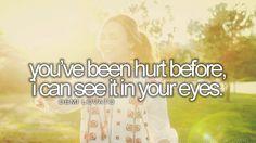 a love for lyrics                                              Demi Lovato