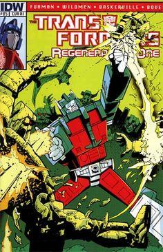 Transformers Regeneration One #85 Incentive Geoff Senior Variant Cover