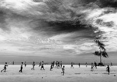 Benguela beach football -Angola by Eric Lafforgue, via Flickr