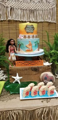 Moana Birthday Party Ideas | Photo 1 of 24