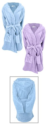 SuperCozy™ Purple Paw Bathrobe at The Animal Rescue Site -- Need a small though