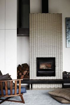 Inspiring, Beautiful & Unusual Fireplace Surrounds   Apartment Therapy