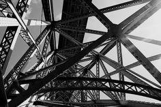 iron bridge by Ruben Whitestone