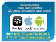 Dengarkan streaming Jamu Tetes Bioactiva di www.bioactiva.co.id dan link : 103.28.148.18:7051