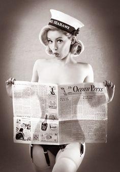 Heather Valentine Vintage Uk Pinup Doll Military