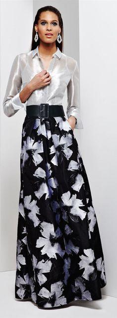 Nice Black Sheer Dress LOOKandLOVEwithLOLO: Carmen Marc Valvo Dresses Check more at http://24shop.ga/fashion/black-sheer-dress-lookandlovewithlolo-carmen-marc-valvo-dresses/