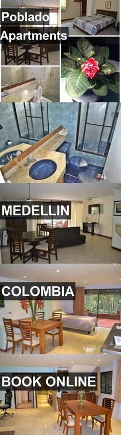 Poblado Apartments in Medellin, Colombia. For more information, photos, reviews and best prices please follow the link. #Colombia #Medellin #travel #vacation #apartment