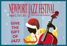 Newport Jazz Happy Holidays 2012 Newport Jazz Festival, Contemporary Jazz, Music Images, Asset Management, Happy Holidays, Presents, Movie Posters, Gifts, Happy Holi