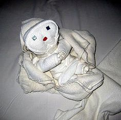 Towel Origami Infant
