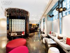 IIDA Awards: Rockwell Group Europe's W Paris-Opéra | Projects | Interior Design