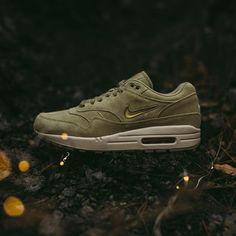 fd689532c1 @Nike Air Max 1 Premium SC (Neutral Olive/Metallic Gold) - $140