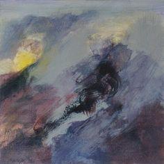 Studie 10, 2000 (P.Wienand) Acryl auf Leinwand/Holz, 25 x 25 cm
