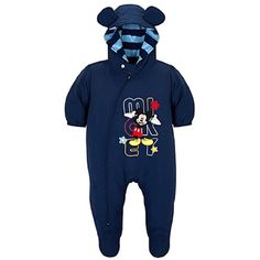 Mickey Mouse Infant Boys Hooded Snowsuit (18-24Mos) « Clothing Impulse