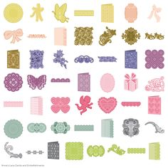 Anna's Lace Cards and Embellishments - Anna Griffin - Licensed Designs…