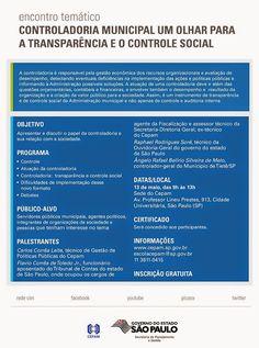 Informação presta: leia os arquivos do blog: Contribuintes do brazil e o controle social e tran...