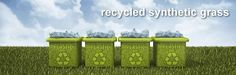 how eco-friendly is Enduroturf's recycled artificial turf? Read more. Fake Grass, Artificial Turf, Pause, Eco Friendly, Recycling, Home And Garden, Backyard, Outdoor Decor, Patio