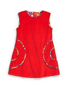 Diy Crafts - Isabel Garreton Toddler's & Little Girl's Corduroy Jumper African Dresses For Kids, Latest African Fashion Dresses, Dresses Kids Girl, African Print Fashion, Kids Outfits, Girls Frock Design, Kids Frocks Design, Baby Frocks Designs, Baby Dress Design