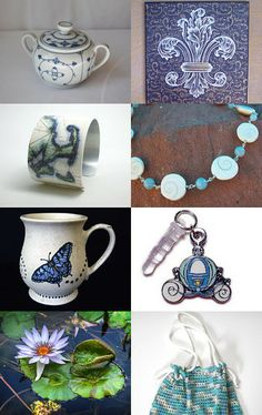 Icy Blues by Karen on Etsy--Pinned with TreasuryPin.com