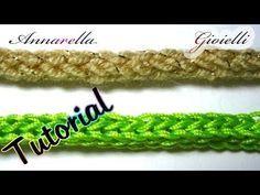 Collana perle e Crochet - tutorial uncinetto bijoux - YouTube