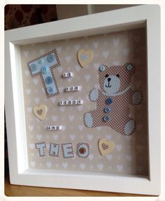 Personalised any name any letter girl boy by ButtonNButterflies, £15.00