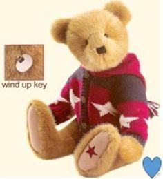 BOYD'S BEAR - DEE C. WASHINGTON Muscial Wind Up Plush Boyds Bears Retired in Dolls & Bears, Bears, Boyds   eBay