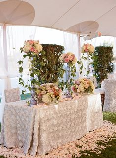 Available in 34 colors, this linen is romantic and beautiful for weddings! Use it for guest tables, the head table, sweets table, or any other special