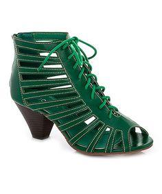 Look what I found on #zulily! Green Raquel Sandal #zulilyfinds