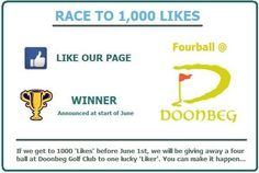 Two days left to win a fourball at Doonbeg Golf Club...