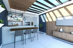 Ambiente residencial criado por Beatriz Coppola. Foto: Divulgação