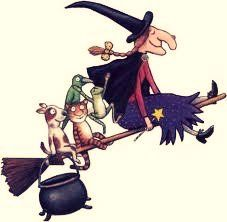 Such a cute show (room on the broom, I think?)