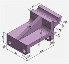 Starlet's CAD Drawing Exercise Blog: 3D CAD Modeling exercises -001