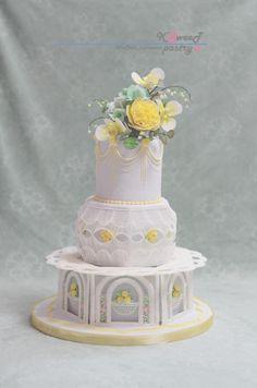 ROYAL ICING CAKE by Ksweet_sugarwork