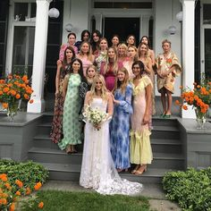 Cassie Coane, a DJ and creative director of Gomelsky, was married over the weekend in upstate New York. Photo by Harley Viera-Newton with Mary-Kate and Ashley Olsen