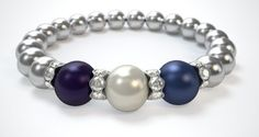 "I'm gifting each of my daughter-in-laws with a ""Family Bracelet"" for Christmas. The Pearls represent Mom, Dad and child. The Pearls are lovely and the colors beautiful going together so well."