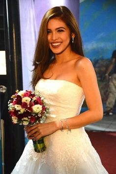 Maine Mendoza, Film Festival, One Shoulder Wedding Dress, Groom, Actresses, Wedding Dresses, Outfits, Attraction, Idol