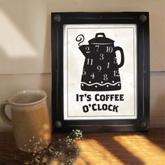 It's always coffee o'clock