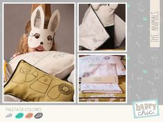 """""""The Animals"""" - Tiny Little Collections by HAPPY CHIC - Design for Kids"""