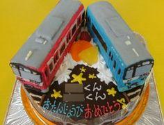 京浜急行電車ケーキ