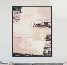 Abstract Art, Large scale printable, painting, light pink, white and black, wall art A minimal, contemporary piece of abstract artwork, hand painted. The painting has been made into a digital file that you can download and print out. This printable art is a fantastic gift idea for friends or family, these prints can be a real personal, thoughtful present for a loved one. None of my artwork is available on the high-street. I can create bespoke sizes of this artwork if you have a different ...