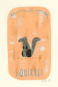 Squirrel by wintersmoke on Etsy