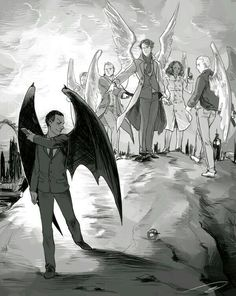 """reapersun: For Let's Draw Sherlock!Gustave Doré's """"Satan is cast out of Heaven"""" I love Doré's engravings ; I considered trying to emulate the awesome linework too but it would probably have taken me a month to do it haha no tks Mycroft Holmes, Sherlock Cumberbatch, Sherlock Fandom, Benedict Cumberbatch Sherlock, Sherlock John, Funny Sherlock, Johnlock, Supernatural, Castiel"""
