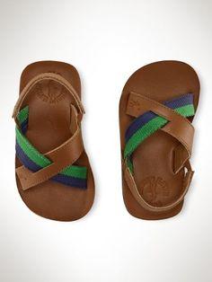 CUTE!!!! RL Bradley Leather Toddler Sandal.  #Vintage #Fashion #2014 #Spring