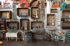 Found Vintage Rentals Warehouse Open House - Photos by Studio EMP