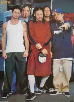 Old school Korn Korn, Art Music, Music Artists, You Rock My World, Limp Bizkit, Jonathan Davis, Teenage Dirtbag, Nu Metal, Post Punk