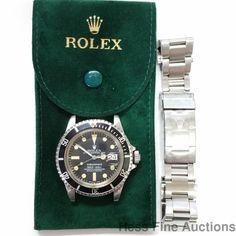 Vintage 1680 Rolex Submariner Matte Dial 5 Mil Serial Mens Steel Watch  #Rolex #Sport