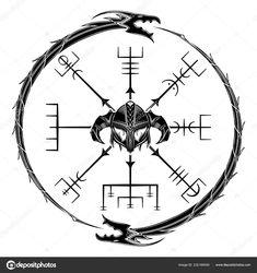 Скачать - Сакральная геометрия. Galdrastar. Egishjalmur. Шлем ужаса. Магические руны символы, которые появились в эпоху раннего средневековья в Исландии. Это несколько, или несколько, переплетаются руны. Рунический талисман. Векторные иллюстрации. — стоковая иллюстрация Norse Tattoo, Viking Tattoos, Viking Art, Viking Runes, Celtic Patterns, Celtic Designs, Zwilling Tattoo, Viking Symbols And Meanings, Sun Tattoo Tribal