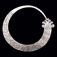 Silver Serpent Lao Hoop