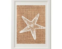 Nautical Wall Art / Starfish / Natural Wall Art / Poster Prints