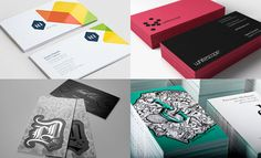 35 Creative and Beautiful Business Card Design examples for your Inspiration